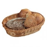 Корзина плетен.для хлеба овал. 33*25*7см