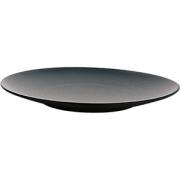 Тарелка для хлеба «Экинокс» D=16, H=2см; черный