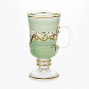 Набор стаканов для чая 200 мл. 6 шт. «Лепка зеленая»