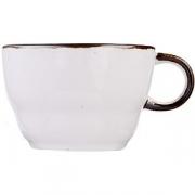 Чашка чайная «Пастораль» фарфор; зелен.