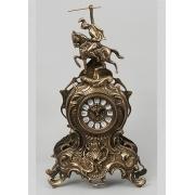 Часы «Всадник» каштан 41х25 см.