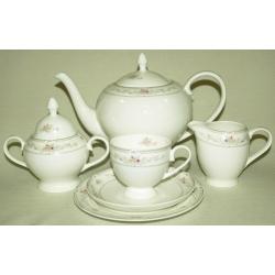Чайный сервиз «Маргарет» 21 предмет на 6 персон (тарелки