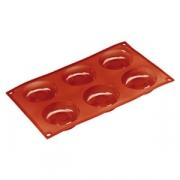 Форма для выпечки пирожных «Саварин» (6ячеек)