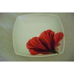 Суповая тарелка «Гибискус»  20 см