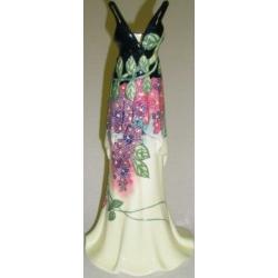 Ваза для цветов «Платье», 30,5 см