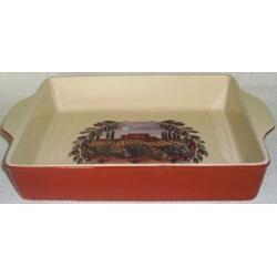 Квадратное блюдо для выпечки «Сицилия» 27х22 см
