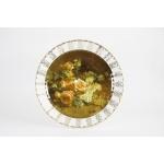 Настенная тарелка 32 см «Цветы 11»