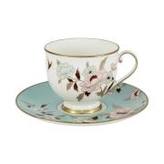Чашка с блюдцем Мирей голубой