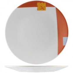 Тарелка «Зен» d=15.25см фарфор