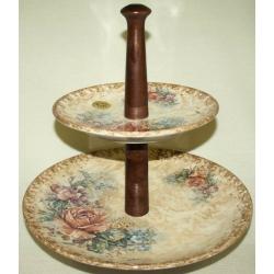 Двухъярусная ваза для фруктов «Элианто»