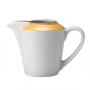Молочник «Рио Еллоу»; фарфор; 142мл; белый,желт.