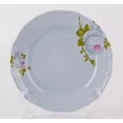 Набор тарелок 19 см. 6 шт. «Алвин голубой»
