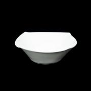 Набор из 6 квадратных салатников 14 см Форте белый
