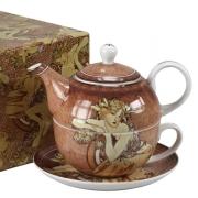 Набор чайный 1 перс 3 пр Женщины-цветы