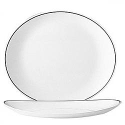 Тарелка для стейка «Филет Бордо» 30см