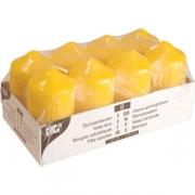 Свечи желтые d=5см, h=10см 8шт.