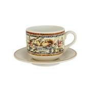 Чашка с блюдцем Старая Тоскана