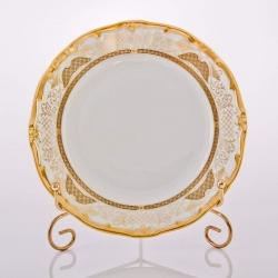 Набор тарелок 19 см. 6 шт. «Симфония Золотая»