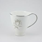 Кружка «Муг» 380мл «Жемчужная роза»
