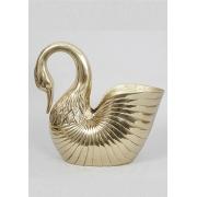 Шампанница «Лебедь» золотистый 27х32 см.