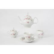 Сервиз чайный на 6 перс. 15 пред «Роза серая 5396011»