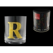 Стакан для виски (1 шт) Азбука Буква «R»
