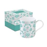Кружка Рококо (зеленая) в подарочной упаковке