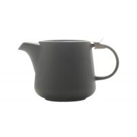 Чайник с ситечком 0.6л Оттенки (тём.серый) в инд.упаковке