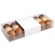 Упаковка для миндального печенья на 6шт. «Фло» [100шт]