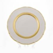 Блюдо «Лента золотая матовая 2» 30 см.