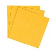 Салфетки «Папирус» 33*33см [300шт] H=12, L=33, B=16.5см; желт.