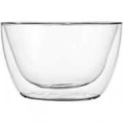 Салатник двойные стенки «Проотель» термост. стекло; 0.5л