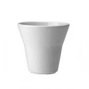 Салатник «Лиф»; фарфор; D=9см; белый