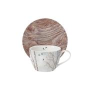 Чашка с блюдцем Природа