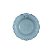 Тарелка суповая Аральдо (голубой)