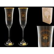 Бокал шампань «Поздравляем»