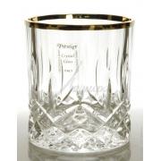 Набор 6 стаканов низких 300мл «Опера» с золотом