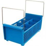 Кассета для столов. приборов H=17.4, L=43.3, B=19.6см; синий