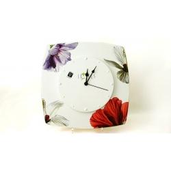 Часы настенные «Гибискус»