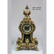 Часы BERCEO с маятником золотой 48х24см