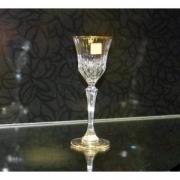 Набор 6 бокалов для водки 80 мл. «Адажио» с золотом