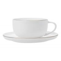 Чашка с блюдцем Кашемир Голд без индивидуальной упаковки