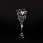 Набор 6 бокалов для вина 150 мл. «Адажио» с золотом