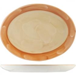 Блюдо овал «Паприка» 30.5см фарфор