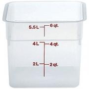 Контейнер пищевой 5.7л полиэтилен