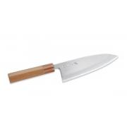 Tojiro-Japanes/Традиционный Японский нож Деба с круглым обухом сталь Aogami