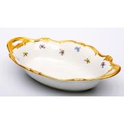 Хлебница 31 см. «Мейсенский цветок»