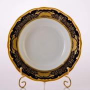 Набор глубоких тарелок 22 см. 6 шт. «Симфония Кобальт»