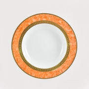 Набор 6 трелок суповых 23см Персиковый