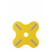 Подставка под горячее «Плюс» (Plus) Rosti Mepal 19,5 x 19,5 x 0,8см (жёлтый)